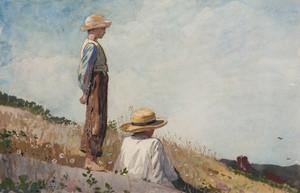 Art Prints of The Blue Boy by Winslow Homer
