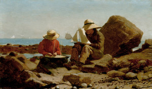 Art Prints of The Boat Builders by Winslow Homer