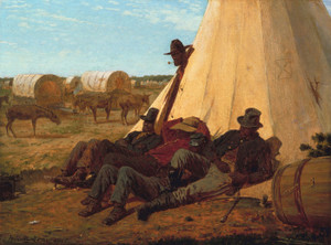 Art Prints of The Bright Side by Winslow Homer