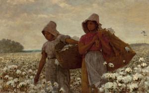 Art Prints of The Cotton Pickers by Winslow Homer