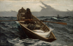 Art Prints of The Fog Warning by Winslow Homer