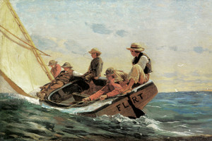 Art Prints of The Flirt by Winslow Homer