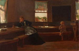 Art Prints of The Noon Recess by Winslow Homer