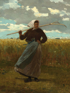 Art Prints of The Return of the Gleaner by Winslow Homer