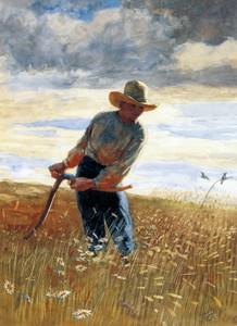 Art Prints of The Reaper by Winslow Homer