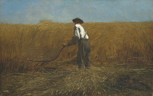 Art Prints of The Veteran in a New Field by Winslow Homer