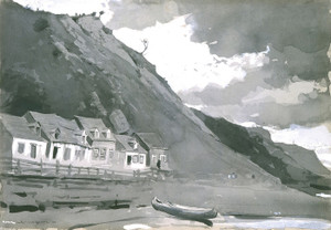 Art Prints of Wolfe's Cove, Quebec by Winslow Homer