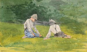 Art Prints of Youth of Saint Preston by Winslow Homer