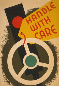 Art Prints of Handle with Care (399088), WPA Poster