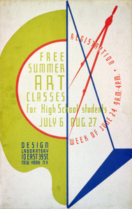 Art Prints of Free Summer Art Classes for High School Students (399114), WPA Poster