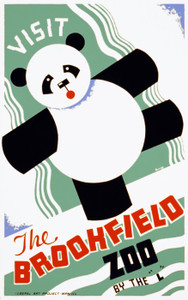 Art Prints of Visit the Brookfield Zoo, 1937, WPA Poster