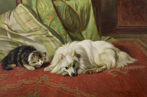 Art Prints of A Favorite Spot by Wright Barker