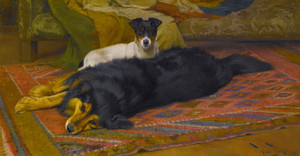 Art Prints of The Two Friends by Wright Barker