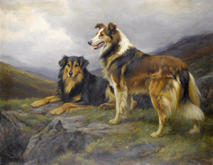Art Prints of The Sentinel by Wright Barker