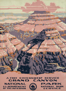 Art Prints of Grand Canyon National Park (399096), Travel Poster