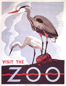 Art Prints of Visit the Zoo (399108), Travel Poster