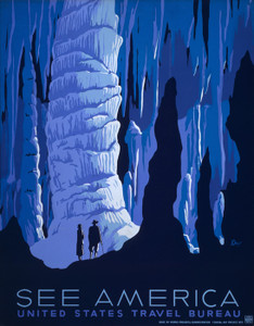Art Prints of See America (399153), Travel Poster
