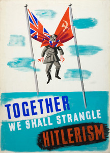 Art Prints of We Shall Strangle Hitlerism II, War & Propaganda Posters