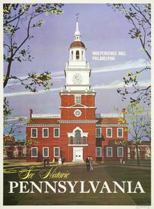 Art Prints of See Historic Pennsylvania, Travel Posters