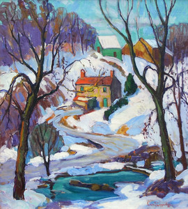 Art Prints of Cobbs Creek by Fern Coppedge