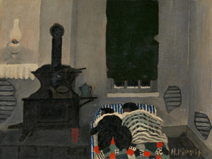 Asleep by Horace Pippin | Fine Art Print