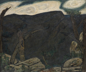 The Dark Mountain No. 2 by Marsden Hartley | Fine Art Print