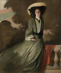 Art prints of Portrait of Mrs. John White Alexander by John White Alexander