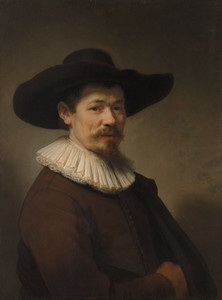 Art prints of Portrait of Herman Doomer by Rembrandt van Rijn