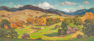 California Landscape by William Wendt | Fine Art Print