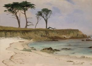 Sea Cove by Albert Bierstadt | Fine Art Print
