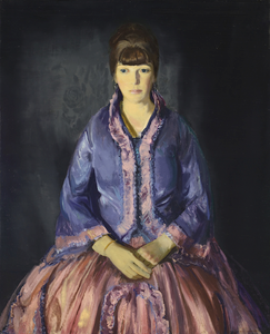 Emma in the Purple Dress by George Bellows | Fine Art Print