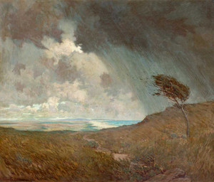 Art prints of Coastal Storm by Granville Redmond