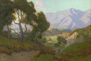 Art Prints of Monrovia Canyon by Elmer Wachtel