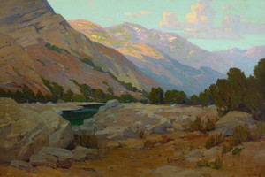 Art Prints of Canyon Solitude by Elmer Wachtel