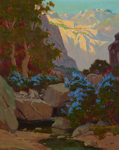 Art Prints of Pasadena Canyon by Elmer Wachtel