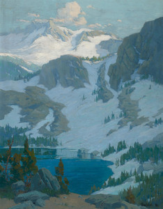 Art Prints of Sierra lake by Elmer Wachtel
