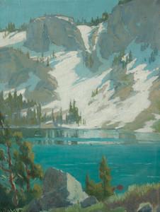 Art Prints of Winter Reflections, Sierra Nevadas by Elmer Wachtel
