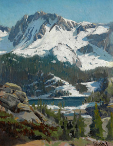Art Prints of Sierra Panorama by Elmer Wachtel