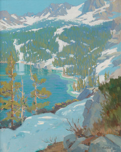 Art Prints of High Sierra Lake by Elmer Wachtel