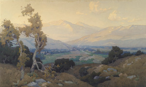Art Prints of The Valley of San Paula by Elmer Wachtel