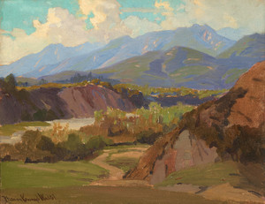 Art Prints of Monrovia Canyon II by Elmer Wachtel