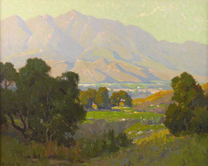 Art Prints of Sunlit Valley by Elmer Wachtel