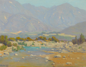 Art Prints of San Gabriel Wash by Elmer Wachtel