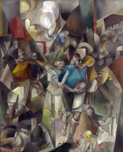 Art Prints of Football Players by Albert Gleizes