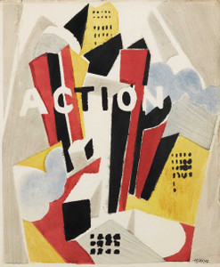 Art prints of Action, Individualist Cahiers of Philosophy & Art by Albert Gleizes