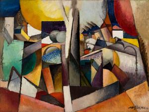 Art prints of Cubist Landscape by Albert Gleizes