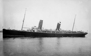 Art prints of the R.M.S. Lucania of the Cunard Line