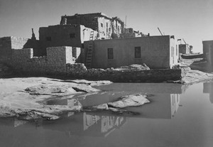 Art prints of Acoma Pueblo, New Mexico by Ansel Adams