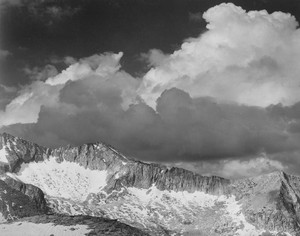 Art prints of Clouds, White Pass, Kings River Canyon