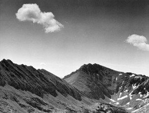 Art prints of Coloseum Mountain, Kings River Canyon by Ansel Adams